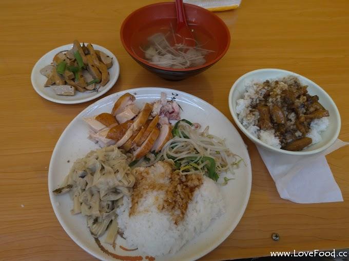 台北萬華【赤谷川雞鴨鵝美食】土雞飯-鴨肉切盤-下水湯-燙青菜