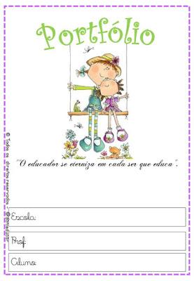 CAPAS, Material para professores, portfólio, 1º ano,