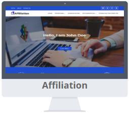 Mẫu Affiliation Blogger