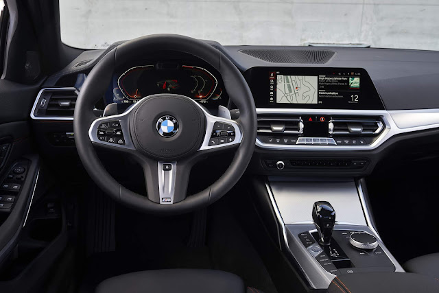 Novo BMW 320i 2020 - Brasil - interior