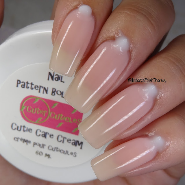 Cuter Cuticles Nail Pattern Boldness Cutie Care Cream | Indie Expo Canada Exclusive