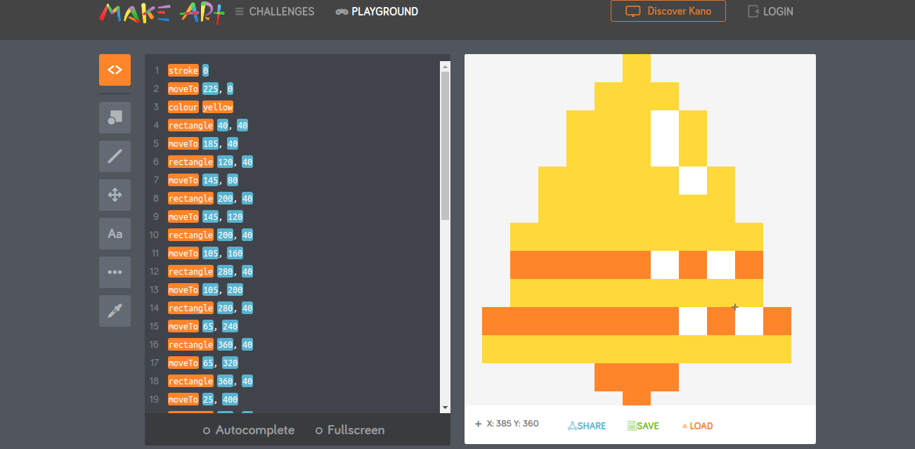 Pixel Art with Kano - Hour of Code | Tech Age Kids | Technology for