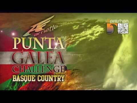 2013 Xpreshon Big Wave World Tour - Punta Galea LIVE