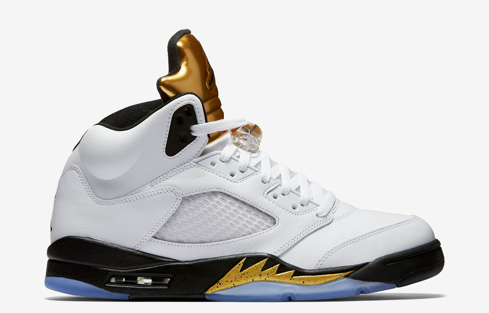 ajordanxi your 1 source for sneaker release dates air jordan 5 retro olympic white black. Black Bedroom Furniture Sets. Home Design Ideas