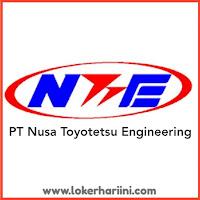 Loker PT Nusa Toyotetsu Engineering 2021