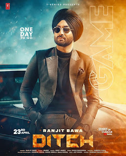 Ditch Full Lyrics Song - Ranjit Bawa