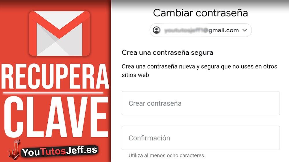 Como Recuperar la Contraseña de Gmail 2021