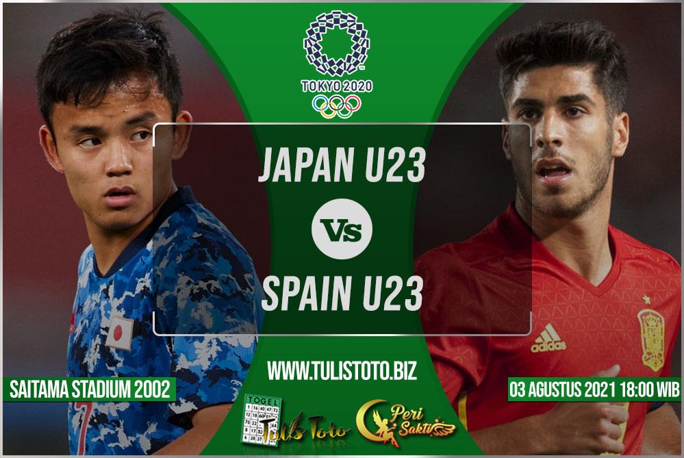 Prediksi Japan U23 vs Spain U23 03 Agustus 2021