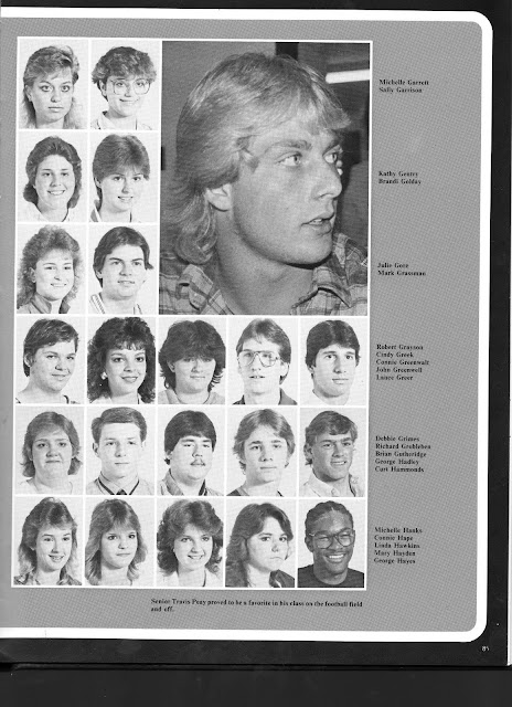 Nhs Class Of 1986 Senior Photos From Yearbook