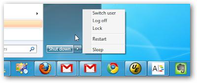 Chế độ Tắt Hibernate không xuất hiện trên menu shutdown của windows sau khi tắt