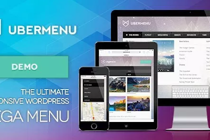 UberMenu v3.6.0.1 – WordPress Mega Menu Plugin