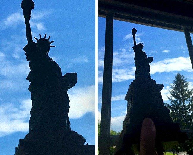 Um dia ensolarado em Nova Iorque
