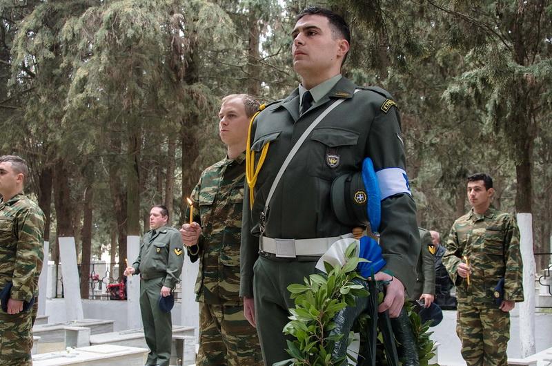 Τρισάγιο στο Στρατιωτικό Κοιμητήριο Αλεξανδρούπολης το Ψυχοσάββατο 22 Φεβρουαρίου