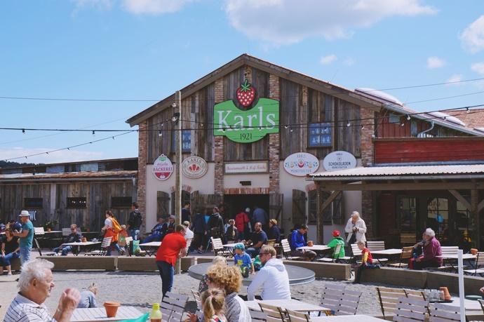 Truskawkowy raj- Farma Karls- Koserow- park zabaw