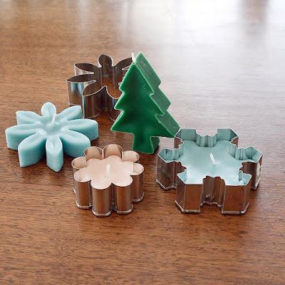 http://www.popsugar.com/smart-living/DIY-Cookie-Cutter-Candles-33065747