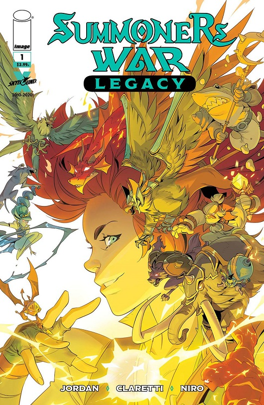 Cover of Summoners War Legacy #1