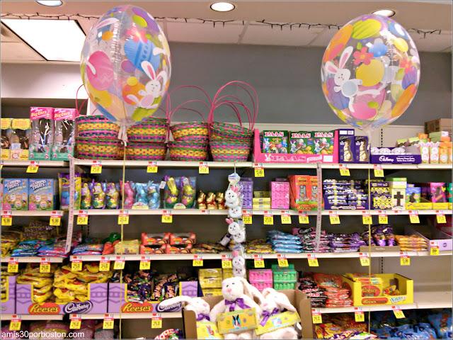Golosinas de Easter o Pascua en los Supermercados de Estados Unidos