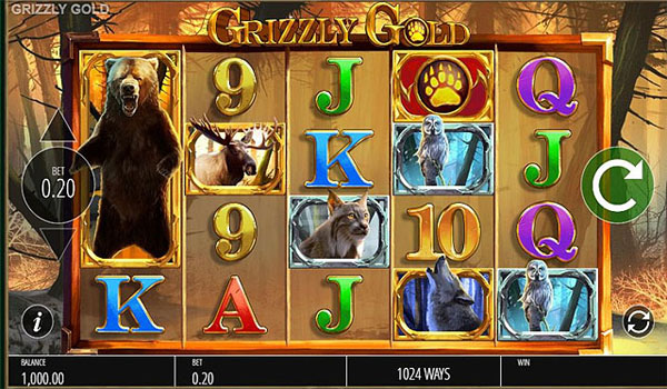 Main Gratis Slot Indonesia - Grizzly Gold (Blueprint Gaming)