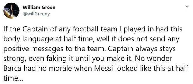 Messi thua đậm Cúp C1 chưa đủ, bị chê tài thủ lĩnh thua xa Ronaldo 5
