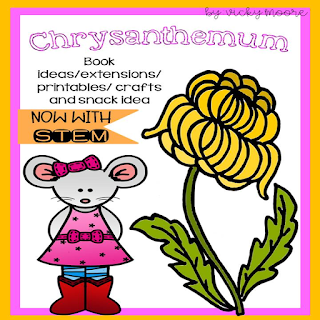 chrysanthemum activity pack with name activities