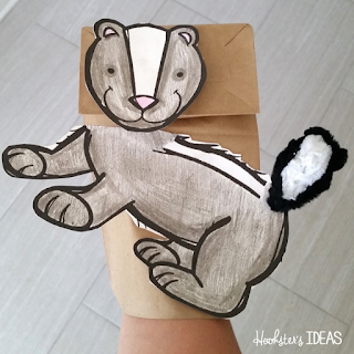 Hookster's Ideas: Tinkering Toddlers Stinky Skunk Puppet