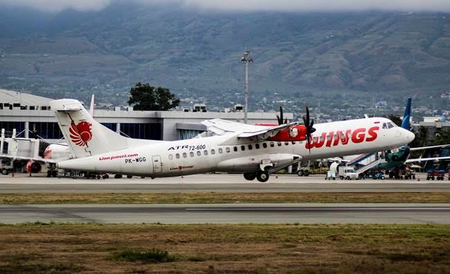 """Rute Baru """"Trans-Sulawesi"""" Wings Air Bisa ke Palu Langsung dari Makassar"""