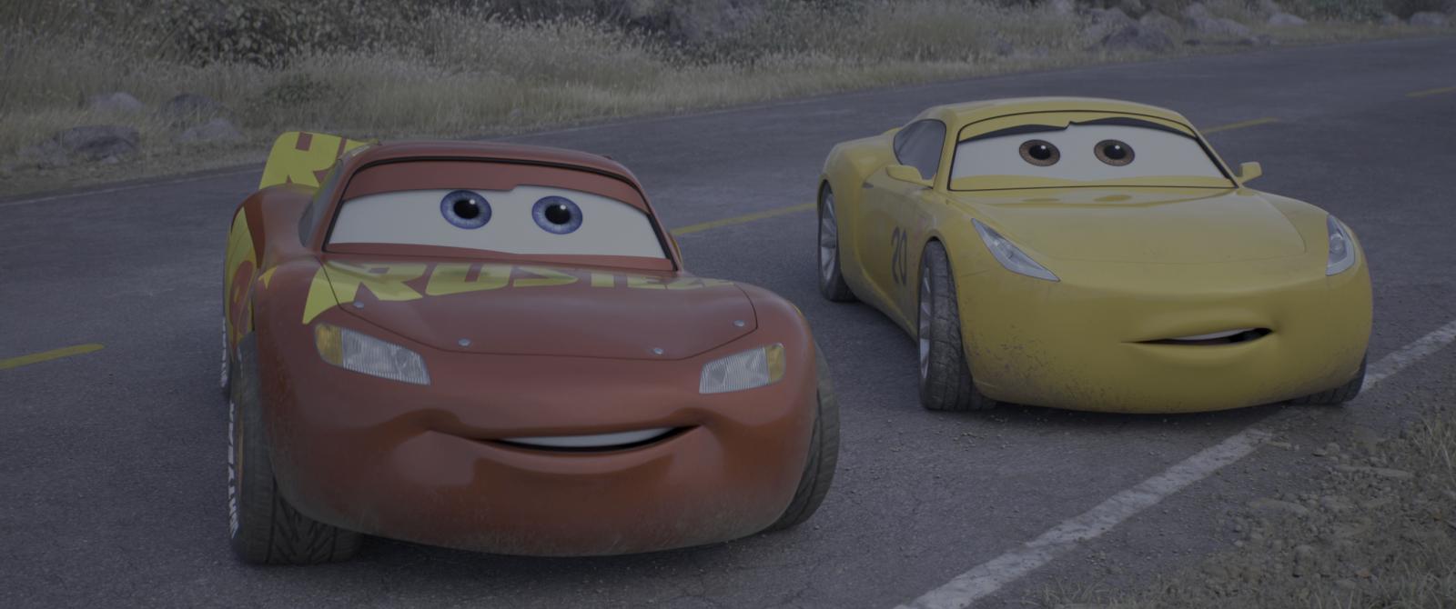 Cars 3 (2017) 4K UHD [HDR] Latino – Castellano – Ingles captura 4