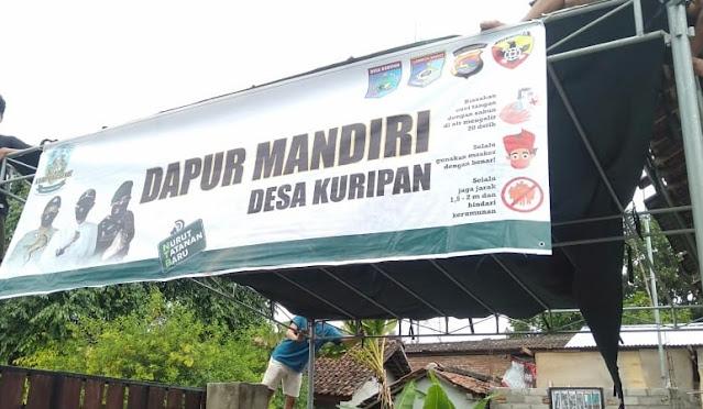 Pemerintah Desa Kuripan dan Masyarakat Siapkan Bale Isolasi DiLengkapi dengan Dapur Umum