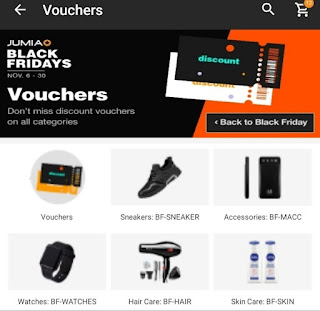 Jumia Black Friday vouchers