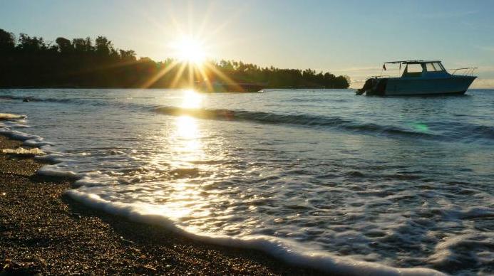 Pantai Sampirang di Minahasa Utara yang Menakjubkan