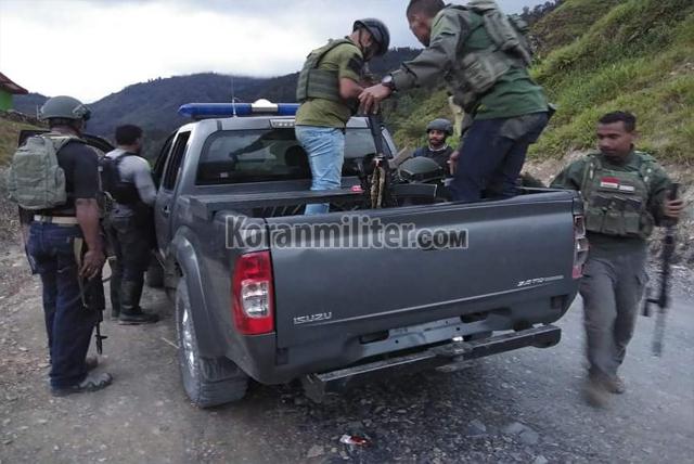 Kontak Senjata di Wamena, 1 Anggota Kelompok KKB Berhasil Dilumpuhkan TNI-Polri