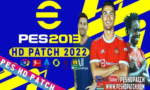 PES 2013 HD PATCH 2022