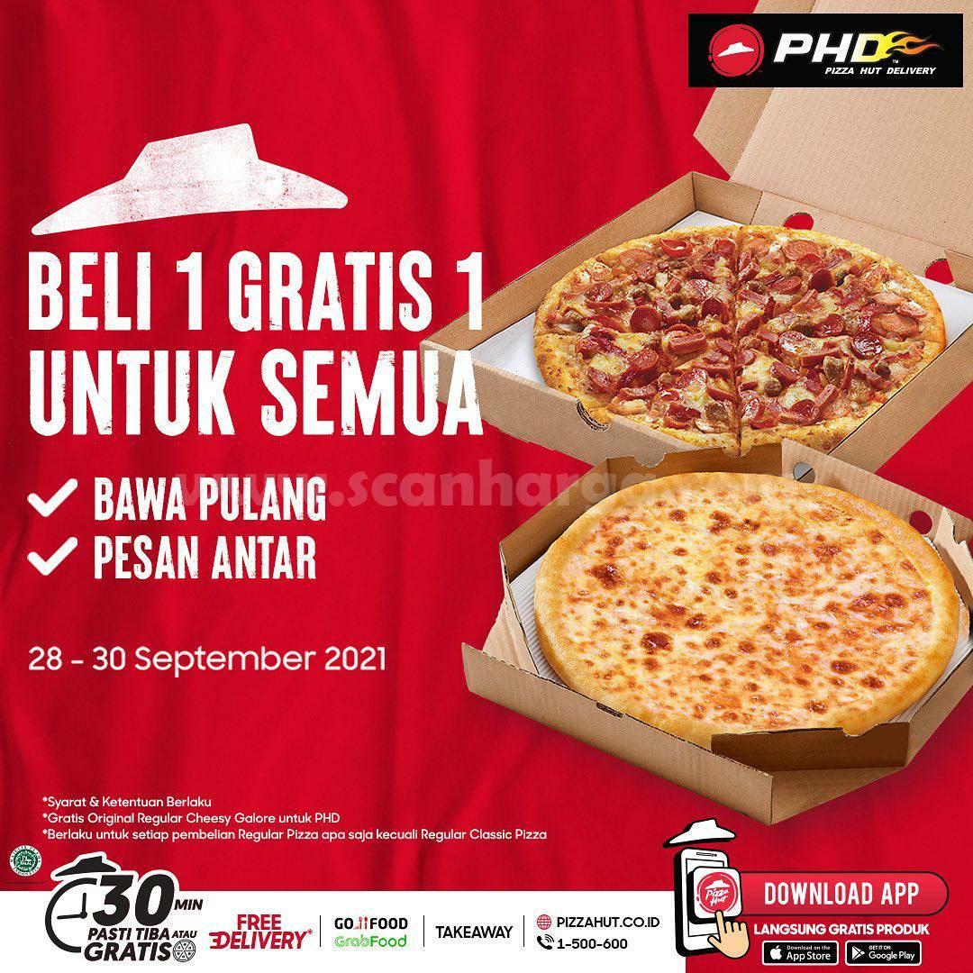 Promo PHD Terbaru 28-30 September 2021 Beli 1 Gratis 1