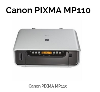 CANON PIXMA MP110 PRINTER DRIVER FOR WINDOWS