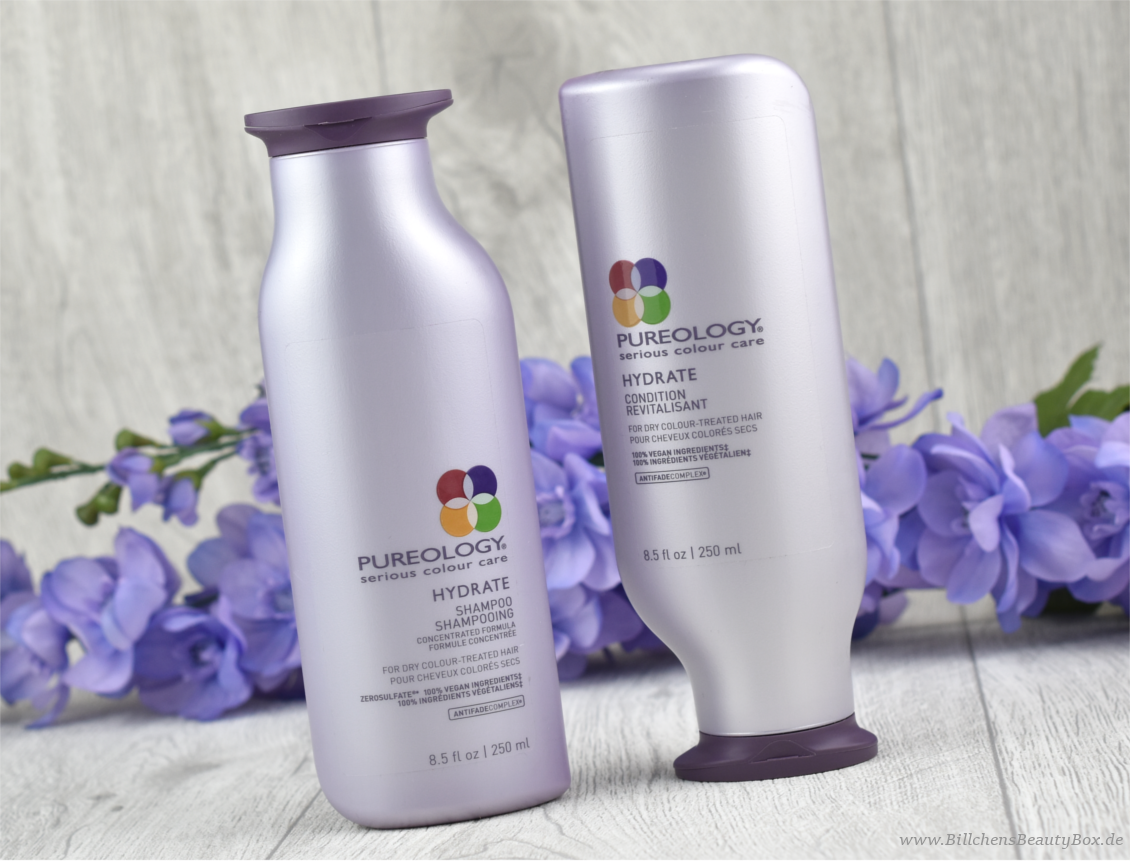 Pureology Hydrate Haarpflegeserie - Shampoo und Spülung - Review & Erfahrung