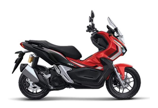 Honda ADV 150 Indonesia Advance Red