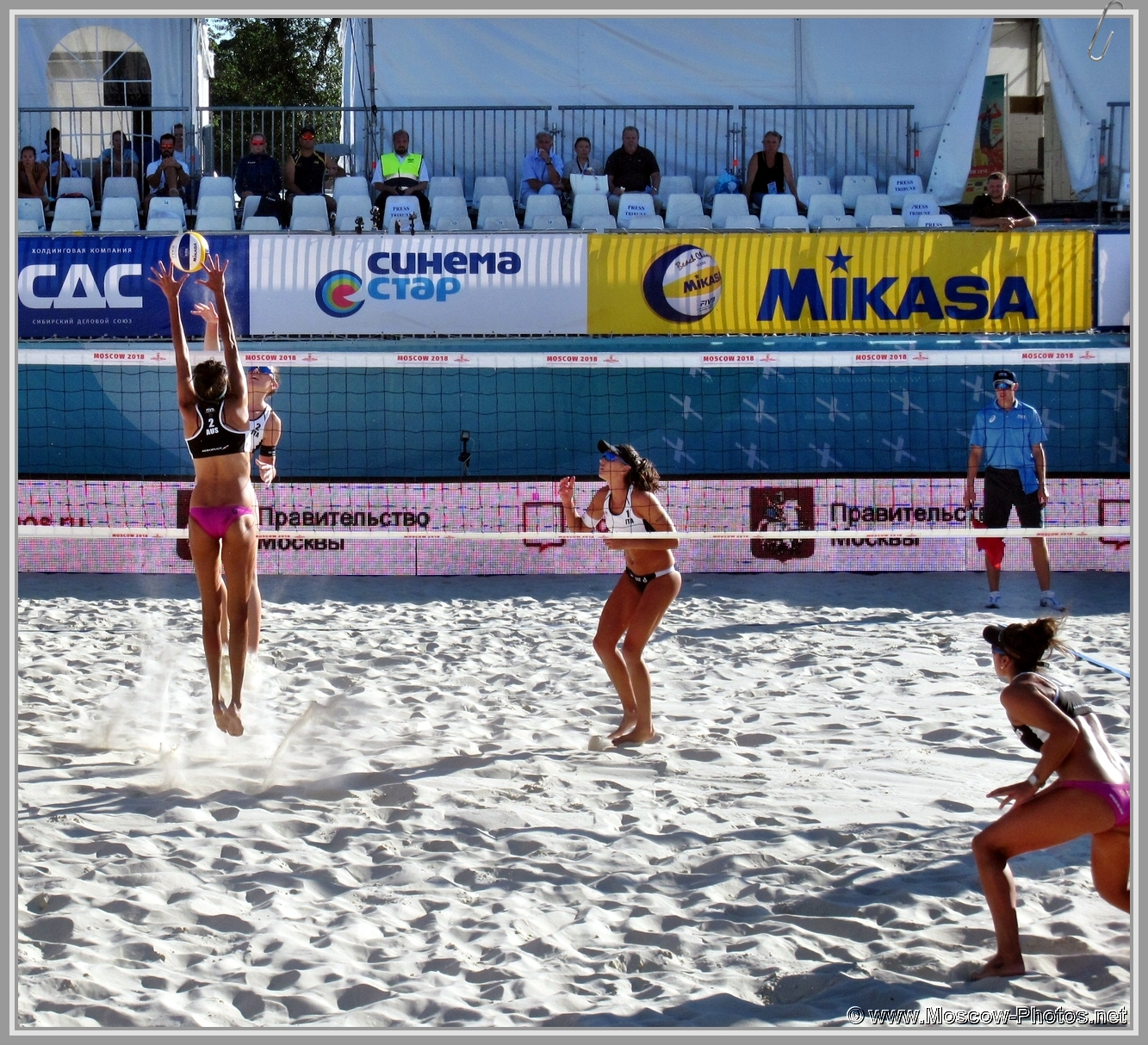 Taliqua Clancy and Mariafe Artacho del Solar - Australian Team at FIVB Beach Volleyball World Tour in Moscow