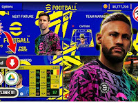 DLS MOD eFootball PES 2022 Edition New Update Squad & Jersey Season 2021-22