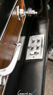Lincoln Continental interior door detail