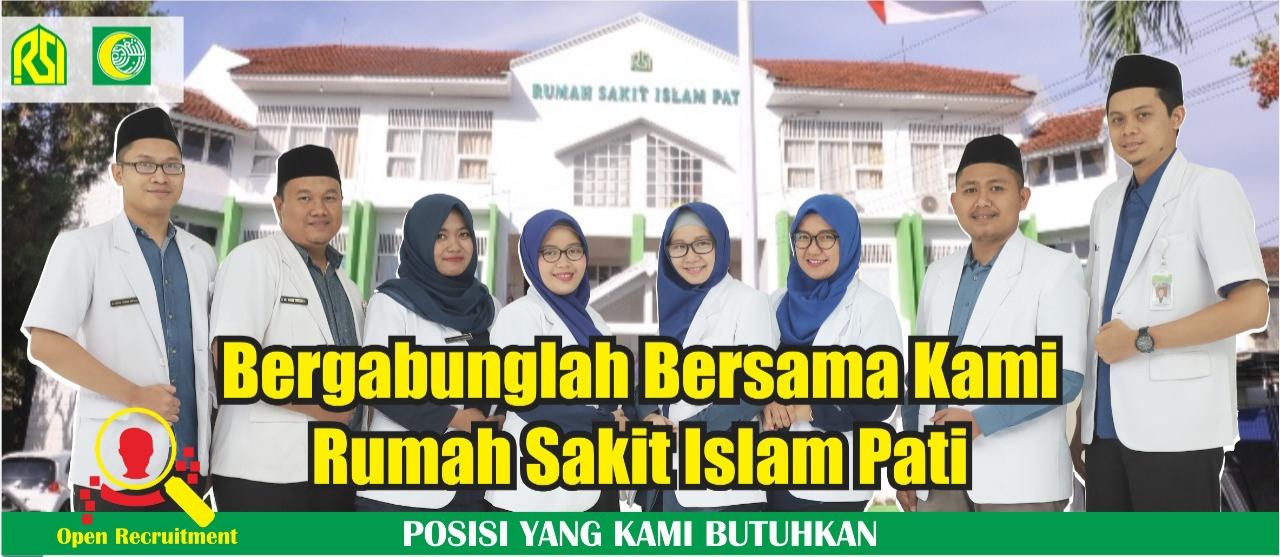 Loker Pati Terbaru di Rumah Sakit Islam Pati Sebagai Apoteker