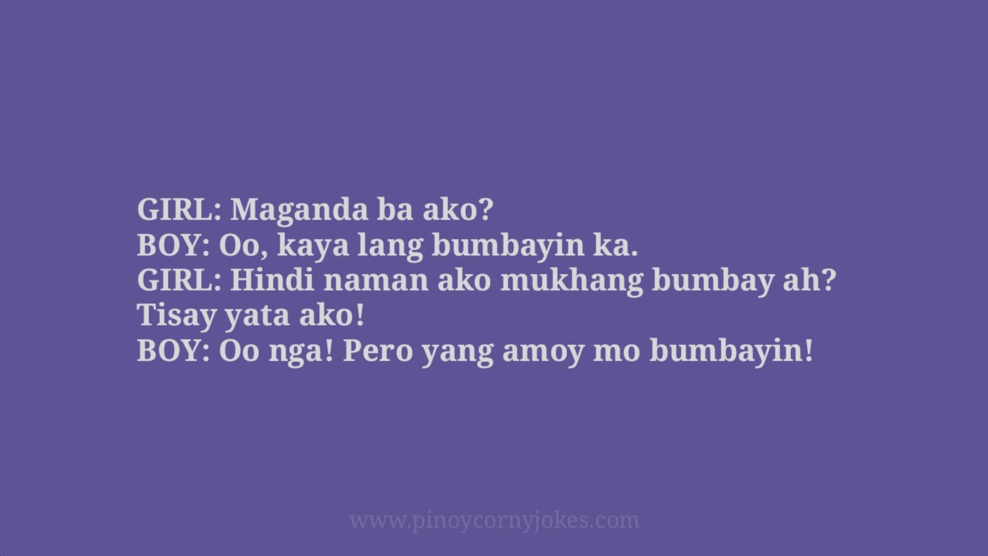 bumbayin tagalog love jokes