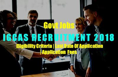 Indira Gandhi Centre for Automic search Apprentice Recruitment 2019    Eligibility Critera And Last date 24 April 2019.