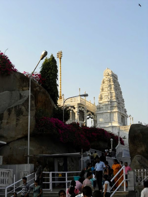 What to do in Hyderabad India: visit Birla Mandir temple