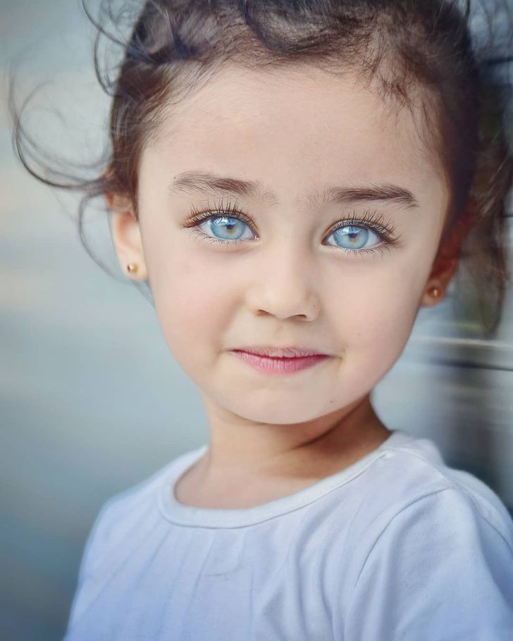 Gorgeous photos of children's eyes that shine brighter than all the diamonds in the world