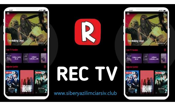 Rec TV Apk İndir | Dizi Film Futbol (Reklamsız) v7.3