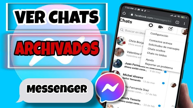 ✅Cómo ver mensajes archivados en facebook messenger 2020?/VER MENSAJES OCULTOS EN *FACEBOOK*