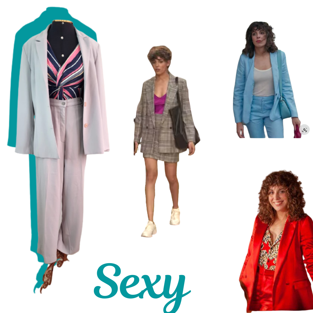 roupas série valeria