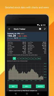 stock trainer app