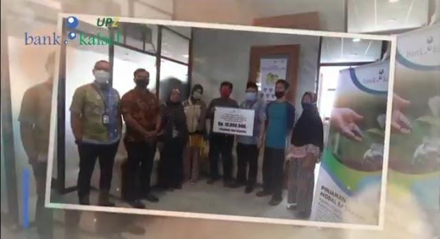 Lagi, UPZ Bank Kalsel Salurkan Modal Barakah