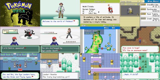 Pokemon Vega Rom Download
